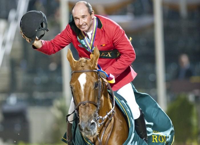 Philippe  LE JEUNE BEL  riding Vigo d'Arsouilles