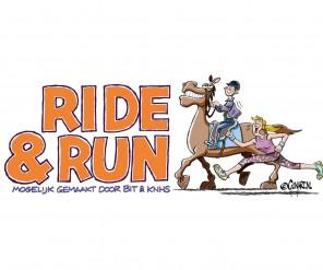 Paardrijden en hardlopen komen samen tijdens het nieuwe event Ride & Run