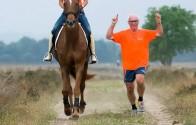 Sfeerreportage van de eerste «Ride & Run» editie