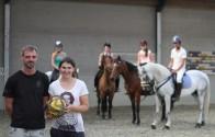 Eerste in een reeks horseball-initiaties is een feit!