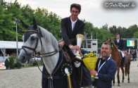 De Ier David Simpson wint de Flanders Horse Event GP kwalificatie